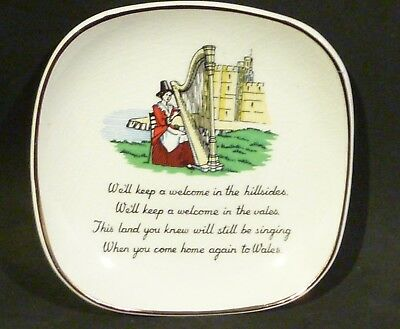SANDLAND pin dish WE'LL KEEP A WELCOME IN THE HILLSIDES