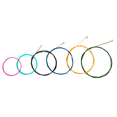 Rainbow Colorful 6 String Guitar Strings Nylon Classical Guitar Strings Set