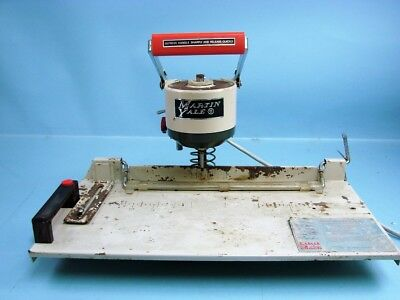 Vintage Martin Yale Lihit Auto Punch Lhp-2001Aa-Six Motorized Heavy Paper Punch