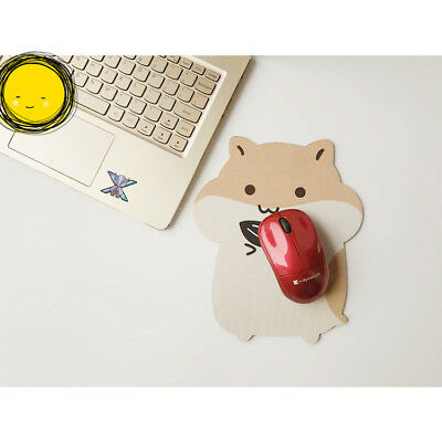 Hamster With Melon Seeds Cute Mouse Pad Anime Mouse Pad Table Mat 22*18cm