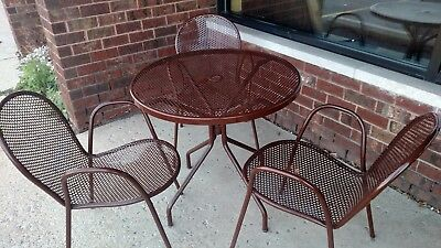 Smith & Hawken 4 Outdoor Tables and 12 Chairs (Patio Furniture)