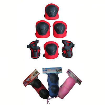 Kids Children Roller Skate Ice Skating Knee Elbow Palm Protector Gear Pad