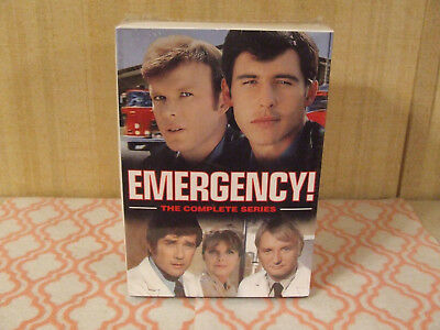 Emergency: The Complete Series (DVD, 2016, 32-Disc Set) NEW