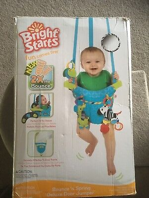 Bounce And Spring Deluxe Door Jumper