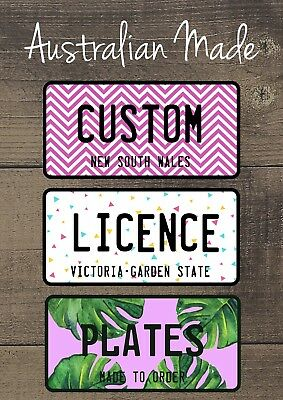 Personalised Name Novelty Car Licence Number Plates | Fully Customised Gift Idea