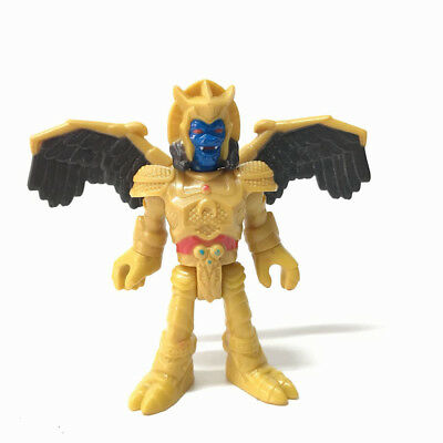 "Rare Fisher-Price Imaginext Power Rangers GOLDAR 3"" Figure Collection Toys Gift"