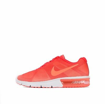 Nike Air Max Sequent Women's Running Shoes Bright Mango