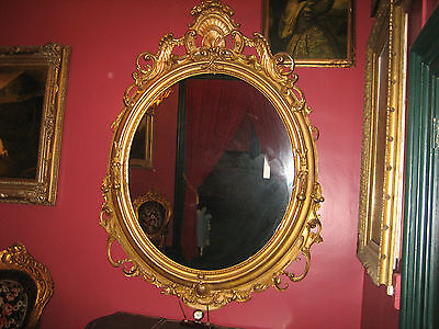 19th century  American Palacial size Victorian Mirror over 7 foot tall