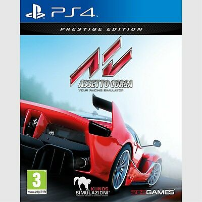 Assetto Corsa Prestige Edition Sony PlayStation 4 New PS4