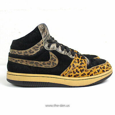 free shipping 42d7f ab82c Nike Court Force High Premium Beast Animal Pack Atmos Size 10.5 AF1 OG Heat