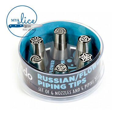 Russian / Flower Piping Nozzle Set & Piping Nozzles