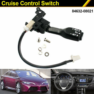 Cruise Control Switch 84632-08021 for Toyota Camry Corolla Matrix Prius Top