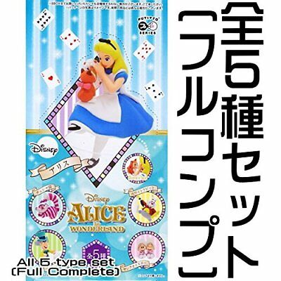 PUTITTO Disney Alice in Wonderland All five sets full comp Figure From Japan