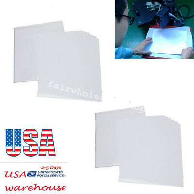 50 Sheets A4 Inkjet Heat Iron On Transfer Paper for Light Color Fabrics usa ship