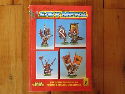 Games Workshop Eavy Metal - Complete Guide To Painting Citadel Miniatures (1993)