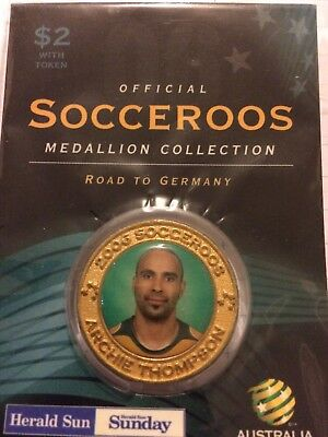 Socceroo Medal Archie Thompson Road To Germany 2006