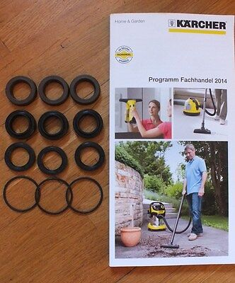 Genuine Karcher Hds,hd Water Pump Pressure Seals Kit Oring