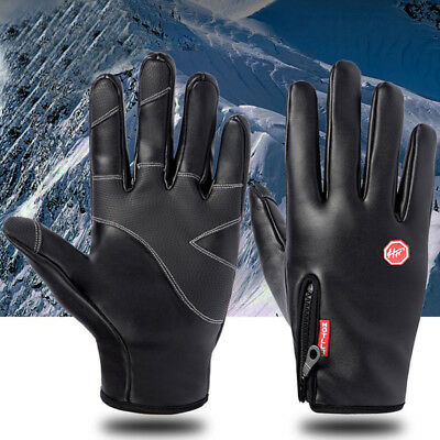 Outdoor Cycling Gloves Man Women Sports Ski Winter Bicycle Windstopper Gloves