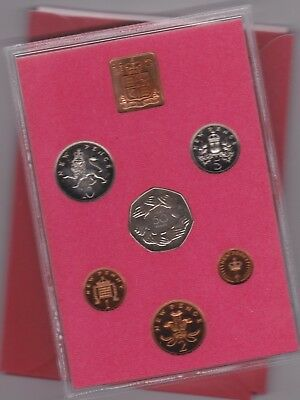 Bright 1973 Standard Proof Set Of 6 Coins