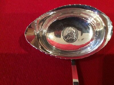 Antique George 3rd Silver Tody Ladle With Silver Crown for 1750- Baleen Handle.