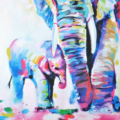 Animal Hand-painted Art Oil Painting Abstract Modern Home Wall Decor On Canvas