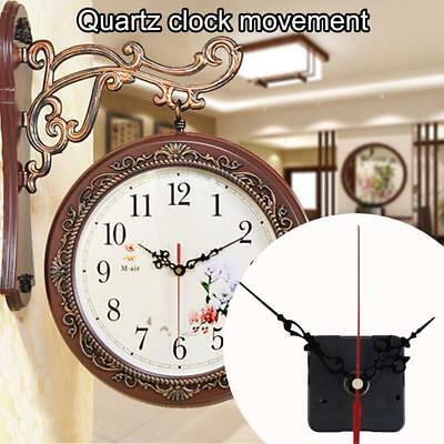 DIY Mute Hands Quartz Clock Movement Mechanism Kit Set Repair Tool Clock Part UK