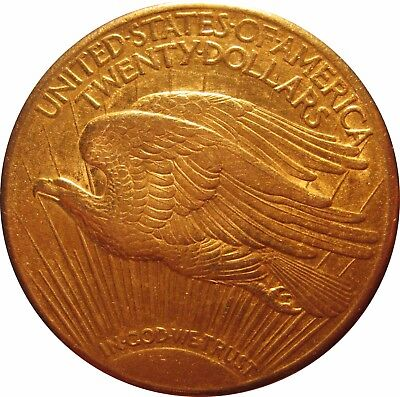 USA KM 131  20 Dollar Double Eagle 1924 in VZ  576020