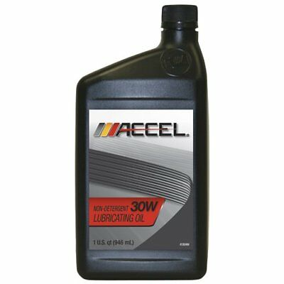 Accel 80511 SAE 30 Non-Detergent Motor Oil - 1 Quart Bottle Case of 12