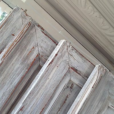 Antique French Armoire Doors, 2 pairs. Courier available