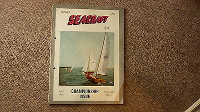 Old Australian Sailing & Boating, Power Seacraft Magazine, Apr 1958