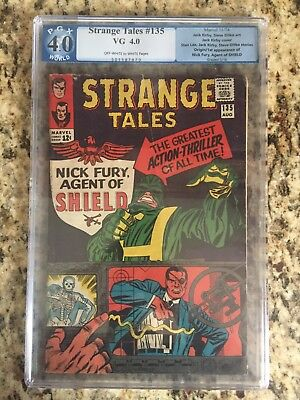 Strange Tales 135 First Appearance Of Nick Fury Pgx 4.0, Not Cgc Or Cbcs