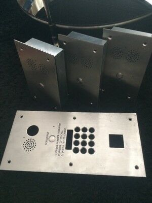 Inbuilt Concierge Boxes With Additional Frame For Keypad And Camera