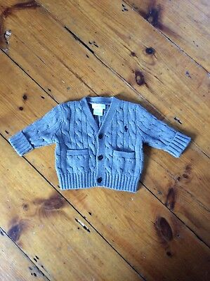Baby Ralph Lauren Cable Cardigan 3-6 Months