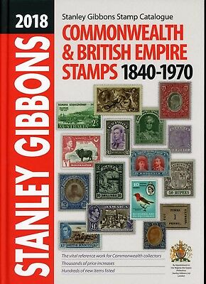 2018 Edition 'PART 1' Commonwealth & British Empire Stamp Cat NOW IN! FREE DELIV