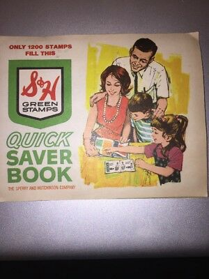 S&H Green Stamps 1 Completed Book