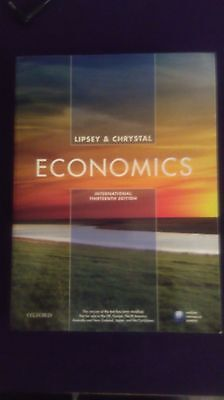 Economics by Lipsey and chrystal INTERNATIONAL 13th edition