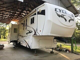 2008 Heartland Cyclone Model 4012 toy-hauler