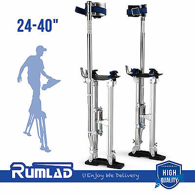 Drywall Stilts 24-40 Inch Aluminum Tool Stilt Painting Painter Taping Walking