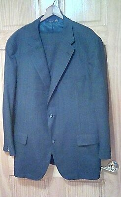 (C22) Vintage Flawless Brooks Brothers Golden Fleece Glenplaid Gray Suit