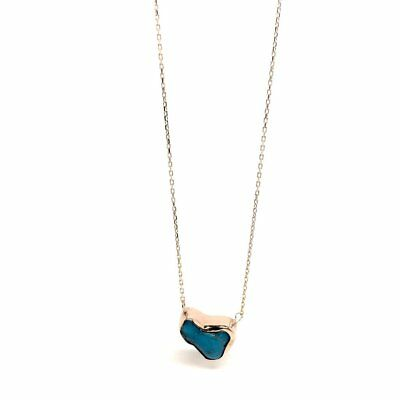 925 Sterling Silver Women's jewellery Gifts Turquoise Arizona Gemstone Necklace
