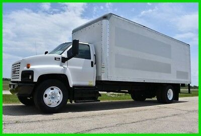 2007 GMC C7500 DURAMAX Diesel 24ft Box Truck Non CDL  - LOW RESERVE!