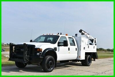 2008 Ford F-550 Service Utility Crane Former Rail Road Truck - Low Reserve!