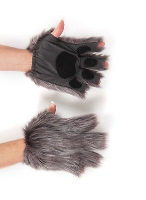 Fingerless Gray Paws by elope