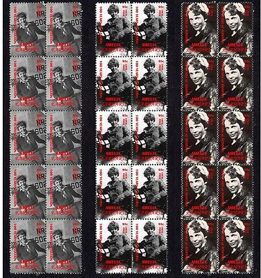 Amelia Earhart Famous Aviator Set Of 3 Stamp Strips 1