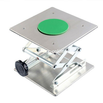1x Lifting Platforms 200mm*200mm Stainless steel Stand Rack Scissor Lab Jack