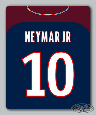 PSG themed MOUSEMAT mouse mat pad PERSONALISED football kit style