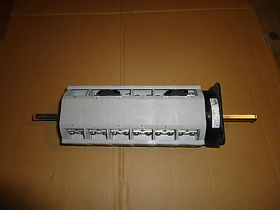 """Abb Cam Switch 2"""" /170Amp 600V Motor Disconnect Part #ol6012B8Bl No Face Plate"""