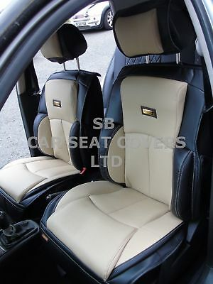 2 FRONTS,YS01 RECARO CAR SEAT COVERS TO FIT A AUDI Q5 d BLACK