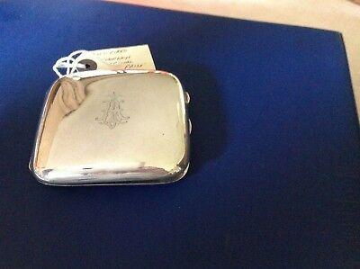 Silver Cigarette  Case 1914 London