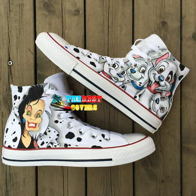 CONVERSE ALL STAR FALL OUT BOY FOB rock band hand painted